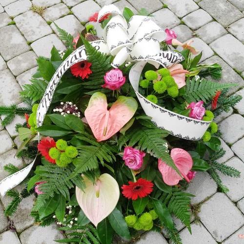 Wiązanka pogrzebowa nr 26