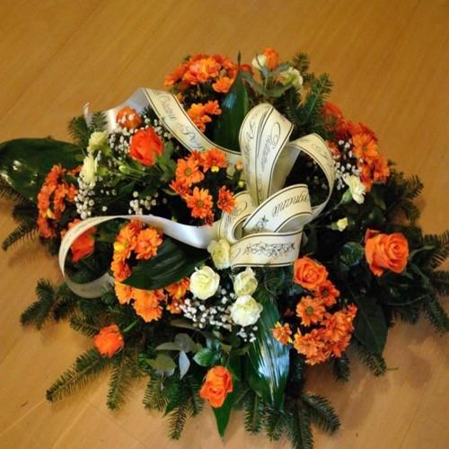 Wiązanka pogrzebowa nr 25