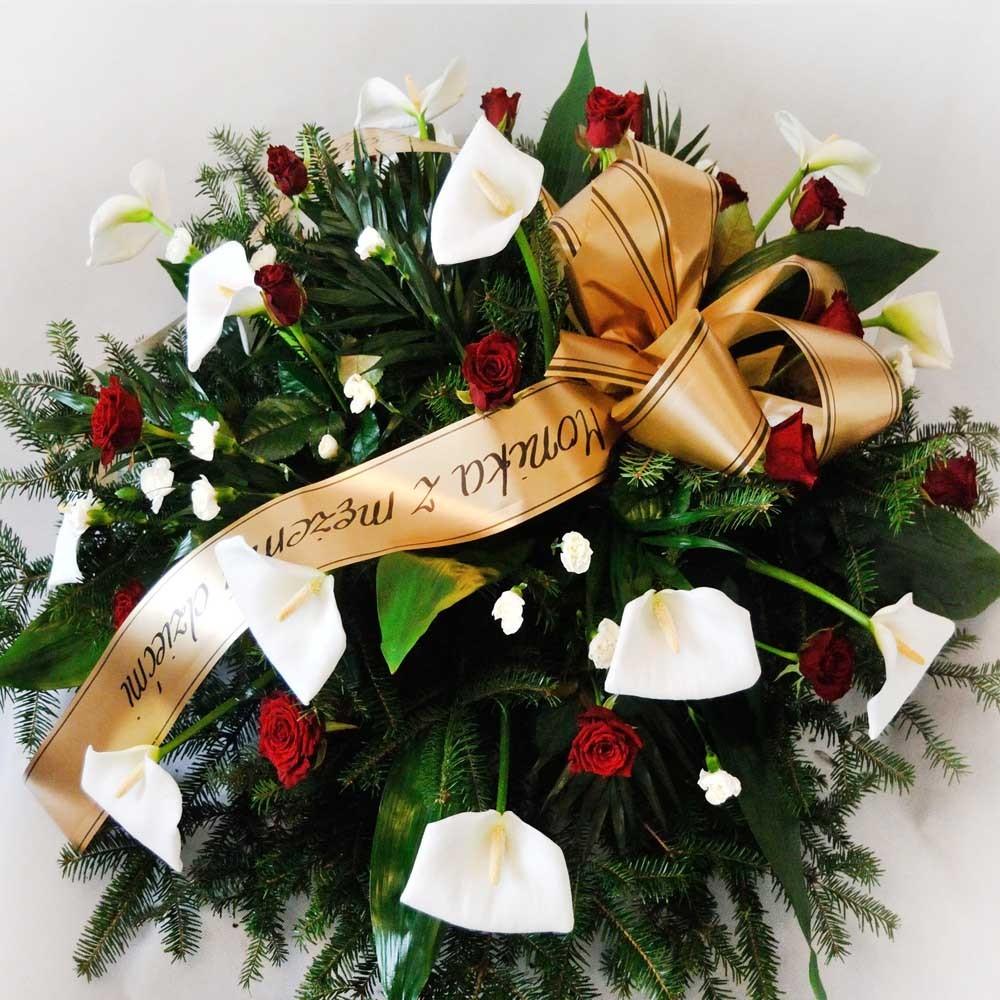Wiązanka pogrzebowa nr 13