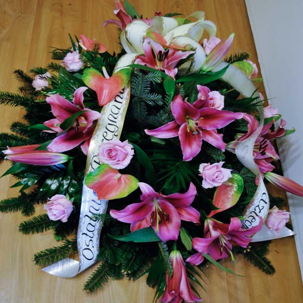 Wiązanka pogrzebowa nr 15