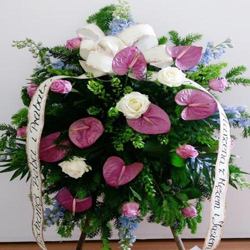Wieniec pogrzebowy nr 95