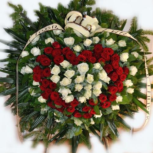 Wieniec pogrzebowy nr 1