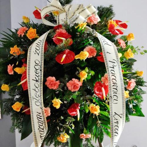 Wieniec pogrzebowy nr 86