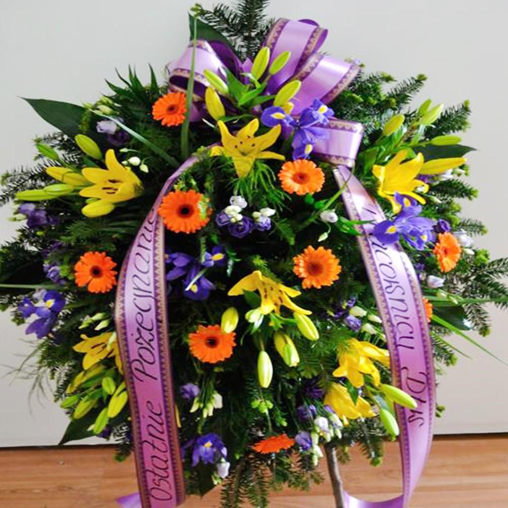 Wieniec pogrzebowy nr 85