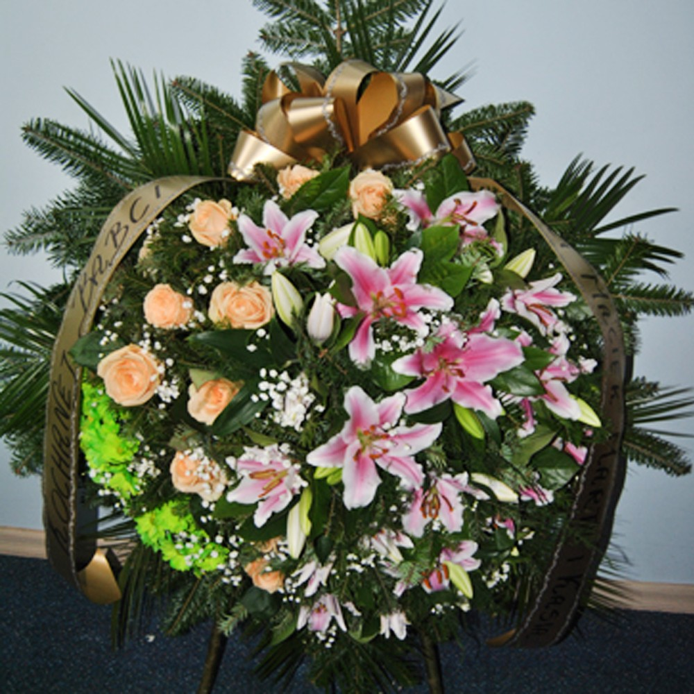 Wieniec pogrzebowy nr 6