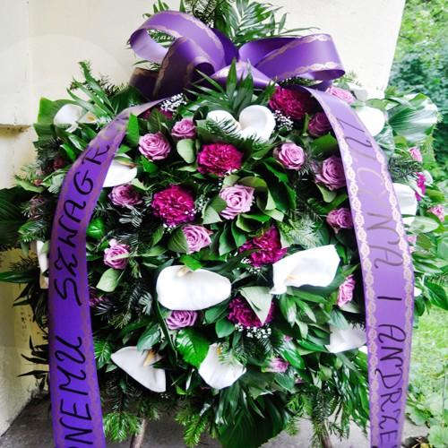 Wieniec pogrzebowy nr 11