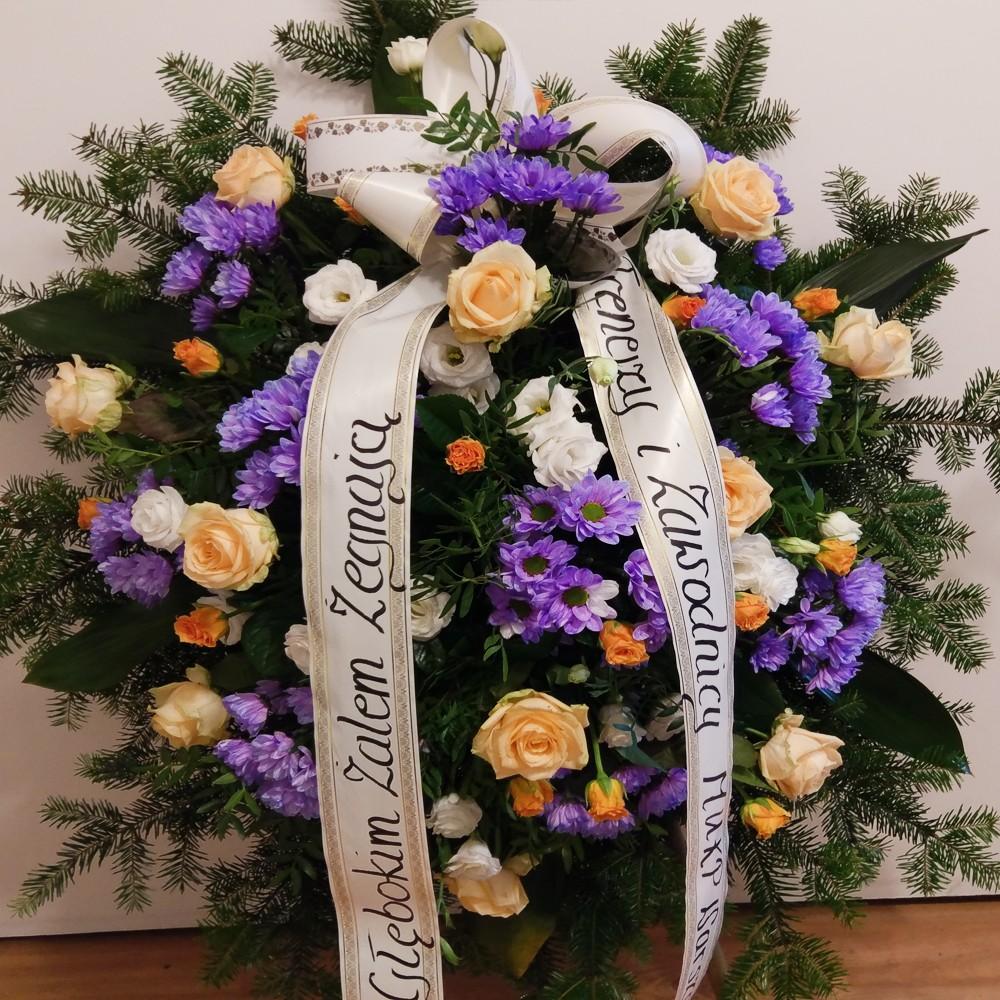Wieniec pogrzebowy nr 73
