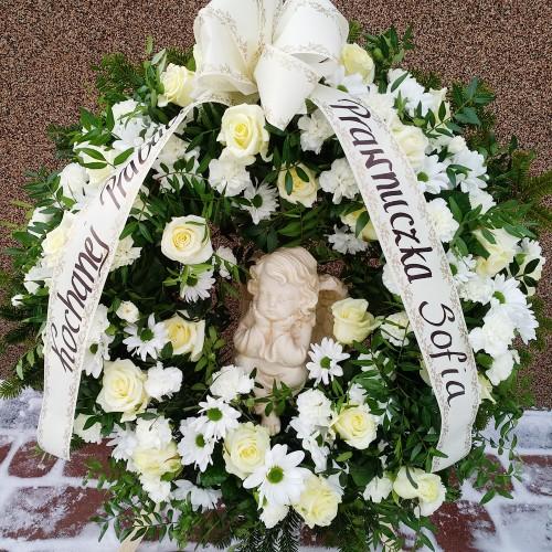 Wieniec pogrzebowy nr 18