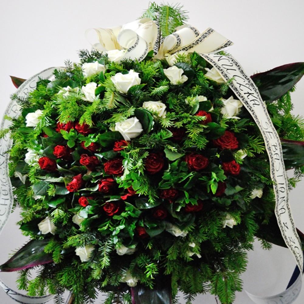 Wieniec pogrzebowy nr 19