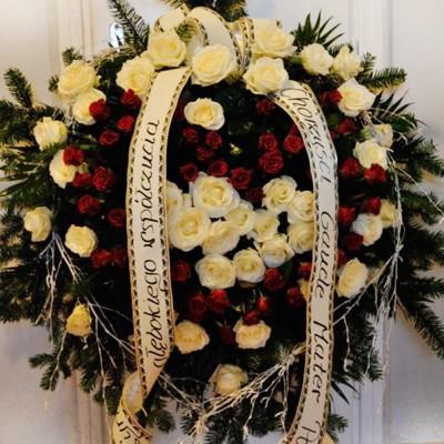 Wieniec pogrzebowy nr 66
