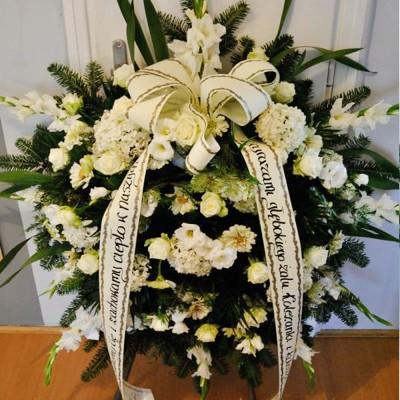 Wieniec pogrzebowy nr 65