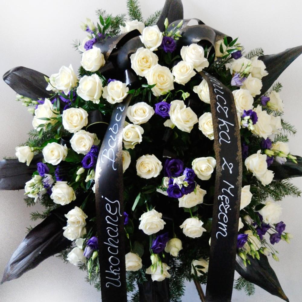 Wieniec pogrzebowy nr 63