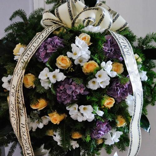 Wieniec pogrzebowy nr 22