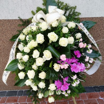 Wieniec pogrzebowy nr 23