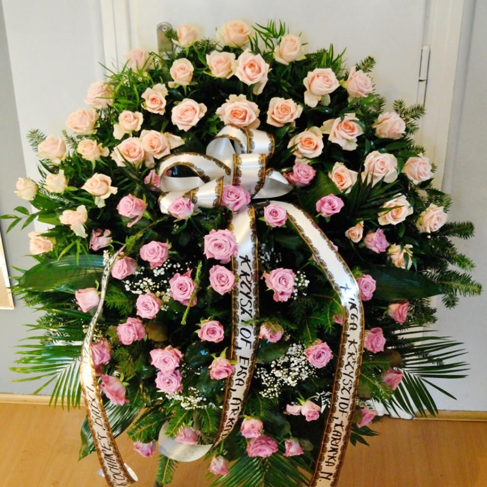Wieniec pogrzebowy nr 60