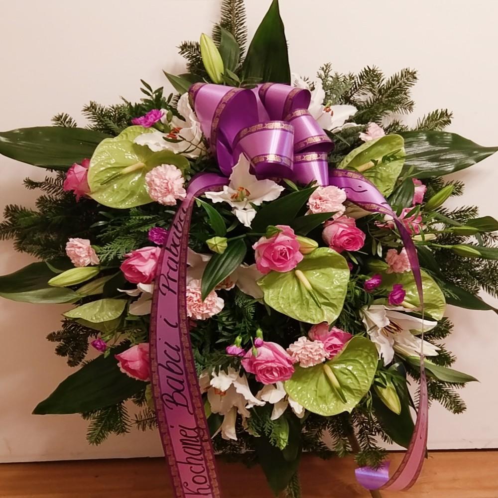 Wieniec pogrzebowy nr 38