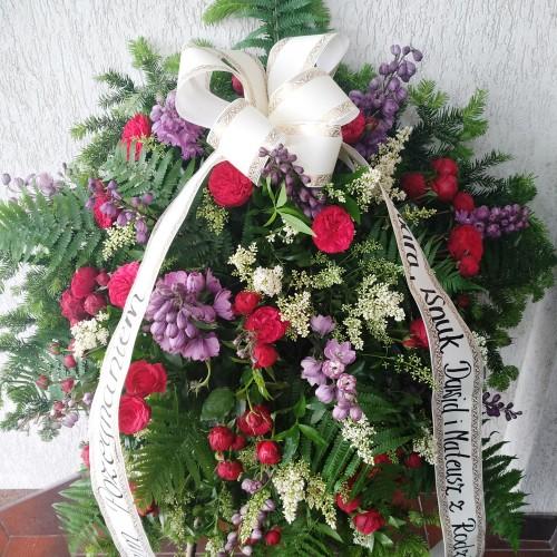 Wieniec pogrzebowy nr 39