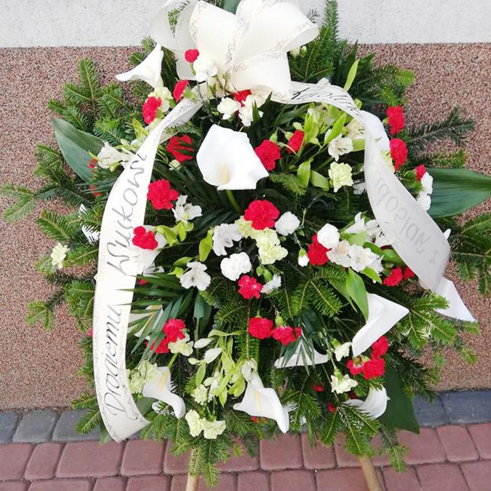 Wieniec pogrzebowy nr 43