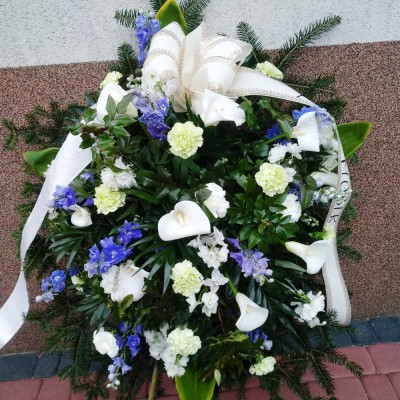 Wieniec pogrzebowy nr 55