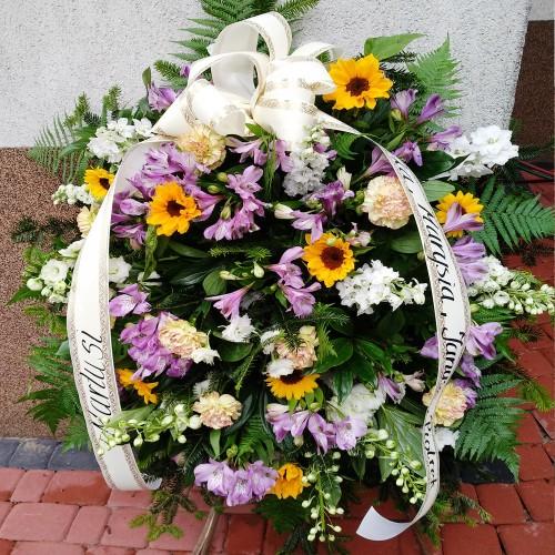 Wieniec pogrzebowy nr 54