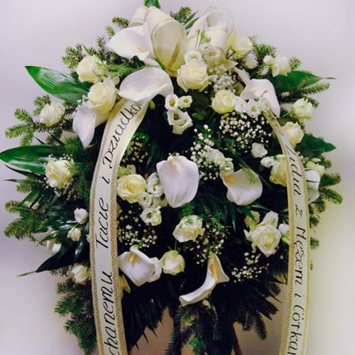 Wieniec pogrzebowy nr 52