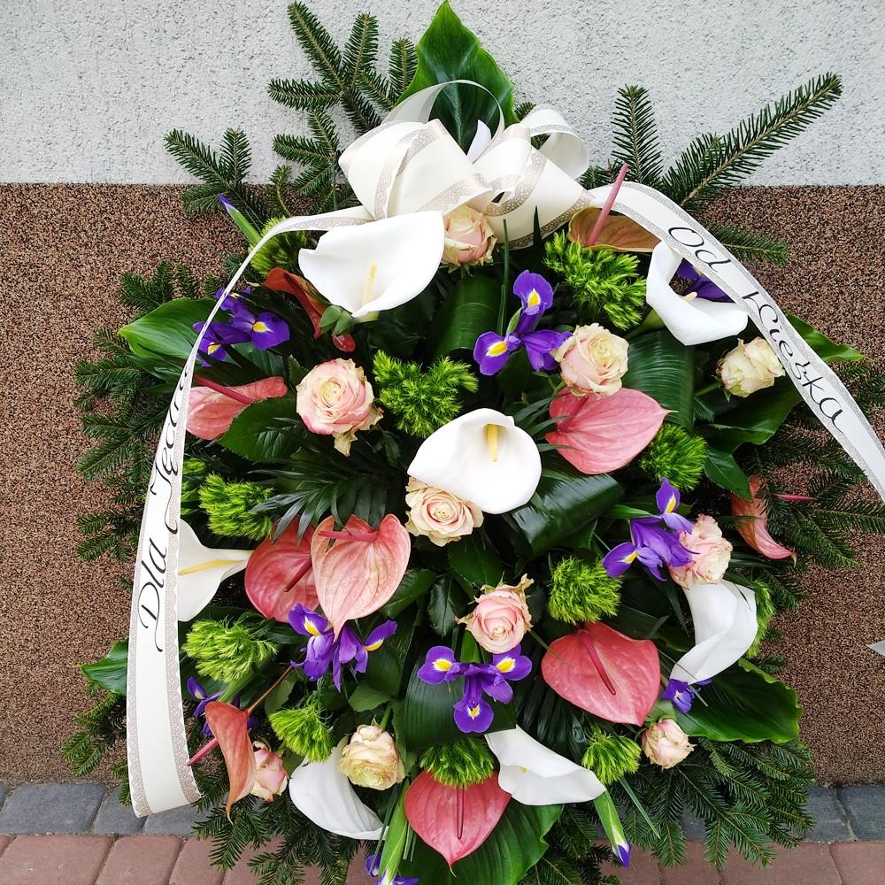 Wieniec pogrzebowy nr 50