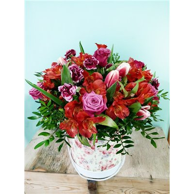 Twój bukiet - róża 40 cm - 50 cm