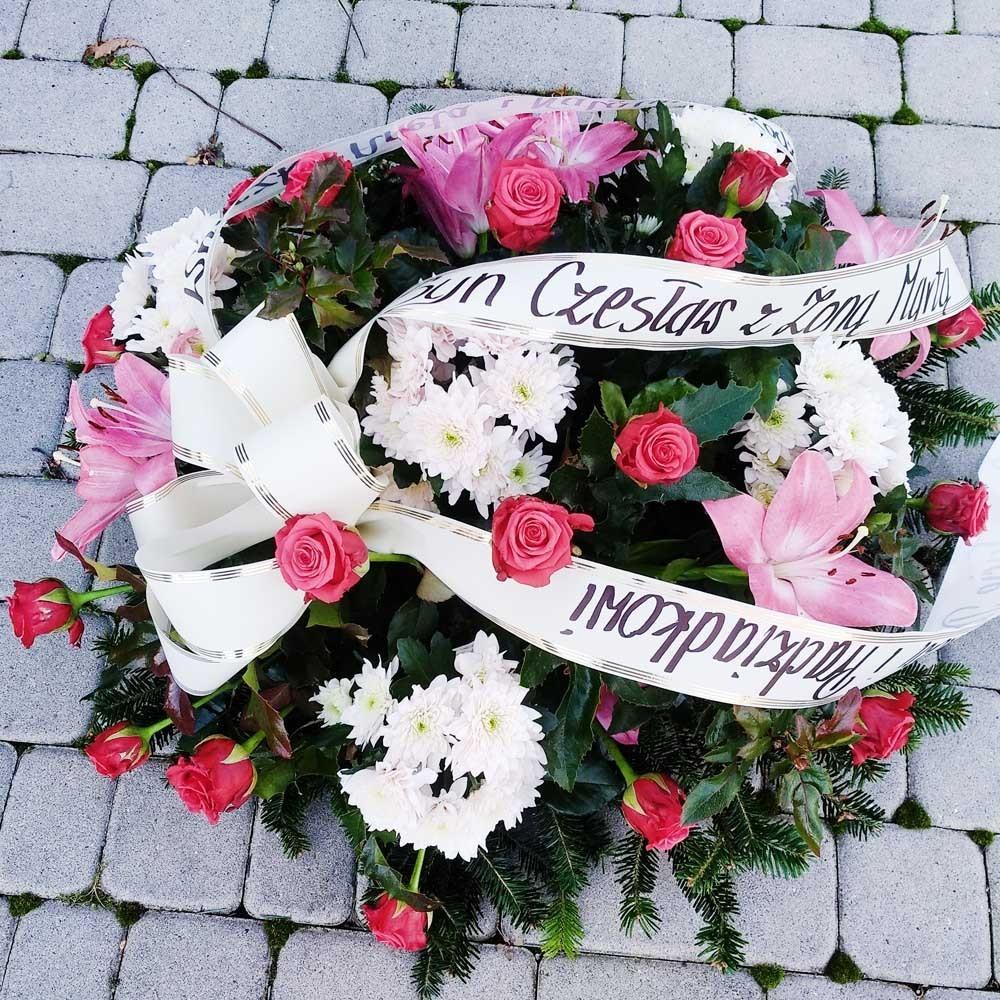 Wiązanka pogrzebowa nr 10