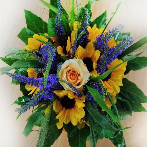 Bukiet Żółto-niebieski