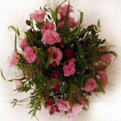 Różowy ogród