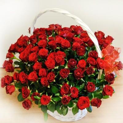 Bukiet róż 70 cm