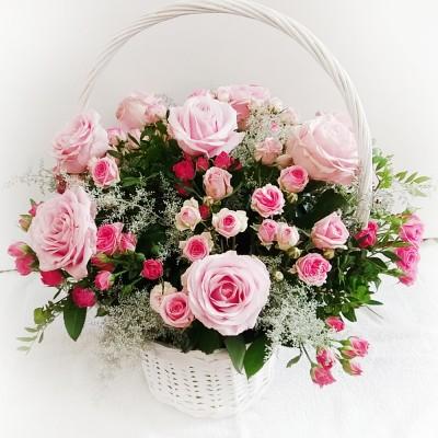 Kosz kwiatowy Dla Dziadków 4